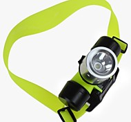 Diving 1000 Lumens XM-L T6 LED 30m Underwater Headlamp (3xAAA Battery/1 x 18650 (Yellow)