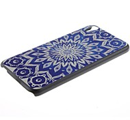 For HTC Case Pattern Case Back Cover Case Mandala Hard PC HTC