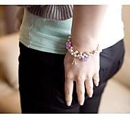 Tassel Pearl Tower Pendant  Bracelet #81-1