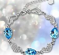 925 Sterling Silver The Smurfs Bracelet