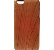 Kyuet Wooden Case Artist Made Cherry Wood Shell Cover Skin Cell Phone Case for iPhone 6 Plus