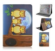 moda gufi dipinte tablet pu proteggere caso con il basamento per ipad dell'aria 2