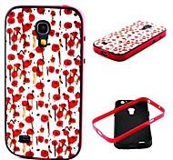 flores patrón de cubierta de la caja para mini i9190 Samsung Galaxy S4