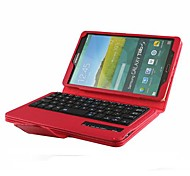 Bluetooth Keyboard with Leather Case and Remote Shutter for Samsung Galaxy Tab S 8.4 T700(Assorted Colors)