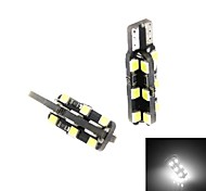 2pcs LED T10 7010 SMD  194 W5W Car Wedge Light Side Interior Number Plate Lamp Bulb internal