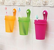 Toothbrush Mug Shower Plastic Multi-function / Eco-Friendly / Gift