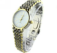 Women's  Mini Round Dial Alloy Band Quartz Analog Wrist Watch