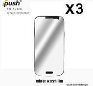 High Transparency Mirror LCD Screen Protector with Cleaning Cloth for Samsung Galaxy S4 mini (3 Pieces)