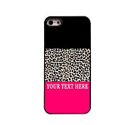 Personalized Phone Case - Leopard Print Design Metal Case for iPhone 5/5S