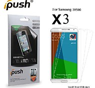High Transparency HD LCD Screen Protector with Cleaning Cloth for Samsung Galaxy S4/I9500 (3 Pieces)