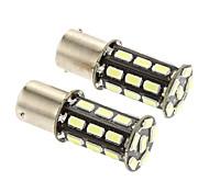 1156 12W 27*SMD 5730 350-380LM 6500K Light LED Bulb for Car Reversing lamp(DC 12V)