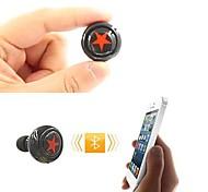 v3.0 bluetooth auriculares in-ear estéreo con micrófono para 6/5 / 5s samsung s4 / 5 lg htc y otros (colores surtidos)