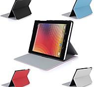 """muchos de cuero ángulo cubierta abatible caso del soporte para 8.9 """"google nexus 9 tableta"""