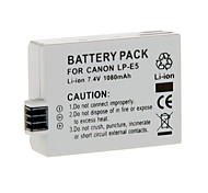 Li-ion Rechargeable Battery for LP-E5 Canon EOS 500D 450D 1000D
