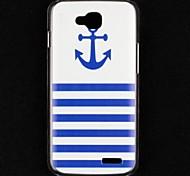 Boat Anchor Transparent Pattern Hard Case for LG L90 D405