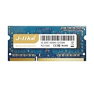 j-like® 1600MHz chip de memória RAM do computador 4gb para notebook