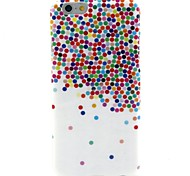 Null point  Pattern TPU Soft Back Cover for iPhone 6
