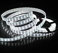 wasserdichte 5m 144w 600 * 5050 smd 9600lm cool white Doppelgehäuse Unterwasserbeleuchtung LED-Streifen-Lampe (12 V DC)