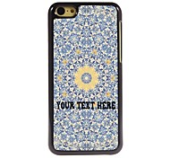 Personalized Phone Case - Yellow Flower Design Metal Case for iPhone 5C