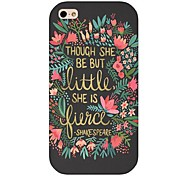 Poet Pattern Back Case for iphone 4/4S