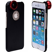 Apexel Screw-in 180 Degree Fish Eye Lens Fisheye Camera Lens with Back Case for iPhone 6 Plus (Assorted Colors)