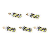 Bombillas de Filamento LED E14 4W 48 SMD 5050 720 LM Blanco Fresco AC 100-240 V 5 piezas