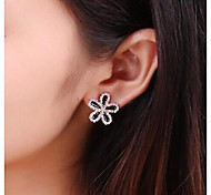 Diamond Flower Ohrringe # 30-1