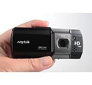 anytek® 2.7 pulgadas dvr del coche FHD 1080p con la visión nocturna llevado 140 grados con vista gran angular