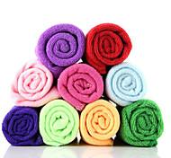 fibra superfina multifuncional toalha seca velocidade rectangular (cor aleatória)