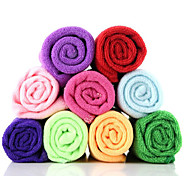 Multifunctional Superfine Fiber Rectangular Speed Dry Towel (Random Color)