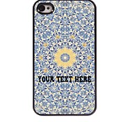 Personalized Phone Case - Yellow Flower Design Metal Case for iPhone 4/4S