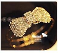 Diamond Butterfly Gold Bracelet #58-1