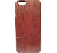 Kyuet Wooden Case Artist Made Sapele Wood Shell Cover Skin Cell Phone Case for iPhone 6