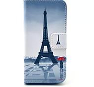 Gráfico/Design Especial/Novidade - iPhone 5C - Cases Totais ( Multi-Côr , Pele PU )