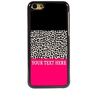 Personalized Phone Case - Leopard Print Design Metal Case for iPhone 5C