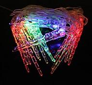pequeno 4.8W pingentes 5m natal do flash 20 levou-strip luz rgb lâmpada (plug eu, ac 110-220V)