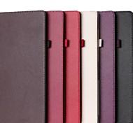 vendita caldo di colore solido cuoio dell'unità di elaborazione caso corpo pieno di pro superficie 3 (colori assortiti)