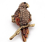 Fashion Alloy Parrot Adjustable Rings Random Color