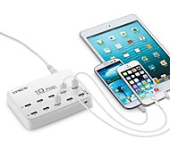 LVSUN® 60W 12A 10-Port USB AC Charging Station for Smartphone/Tablet with Quick Charging