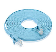 3M 9.84FT Cat6 Network Cable High Speed Flat Pure Copper Jumper Network Connection Cable
