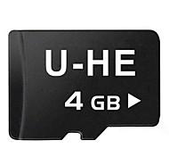 classe 10 micro sd cartão de memória tf UHE 4gb