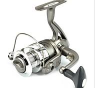 Fishing Reel Spinning Reels 5.1:1 6 Ball Bearings Exchangable / Right-handed / Left-handedSea Fishing / Fly Fishing / Ice Fishing /
