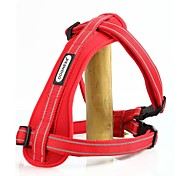 Cute Red Reflective Harness for Dogs Pet Harness Dog Harness