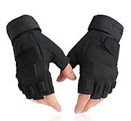 WEST BIKING® Black Tactical Cycling Bicycle Bike Half Finger Sports Luvas Men Summer Spring Gloves