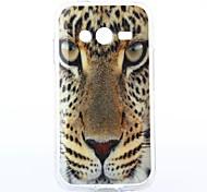Para Funda Samsung Galaxy Diseños Funda Cubierta Trasera Funda Animal TPU Samsung Ace 4