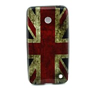 Bratain Pattern TPU Solf Cover for Nokia Lumia 630/635