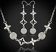 u7® venta caliente europa 18k de la alta calidad de platino oro verdadero plateado de la joyería de