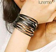 Lureme Multi-layers Leather Bracelet