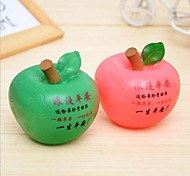 Peace Fruit Piggy Bank Romantic Apple LED Nigth Light (Random Color)