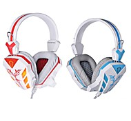 Cosonic CD-618 Headphone Wired 3.5mm Over Ear Gaming with Microphone LED Light For PC